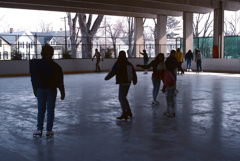 Skating at Swinburne Park