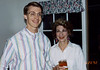 Engagement party at Libby Clark's house, with Al Gilbertson.  6/20/92.