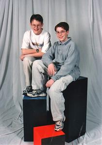 Justin Bellmor & Adam Tart Spring 1999 7th Grade