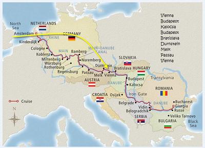 1999 - Danube - Grand Circle Cruise