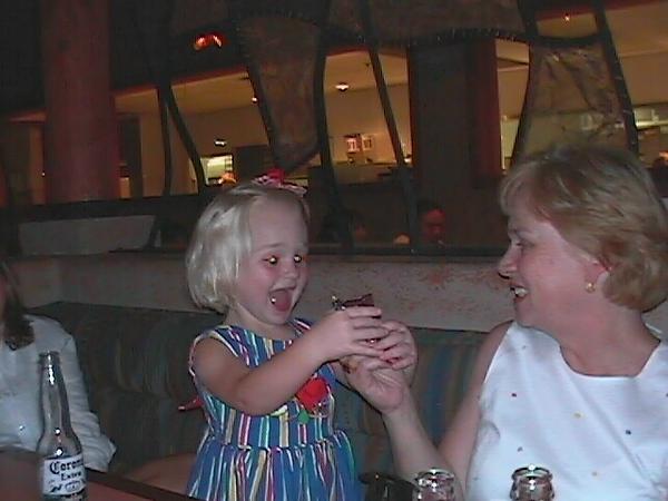 Ann and McKenzie Aug 23 1999 #4