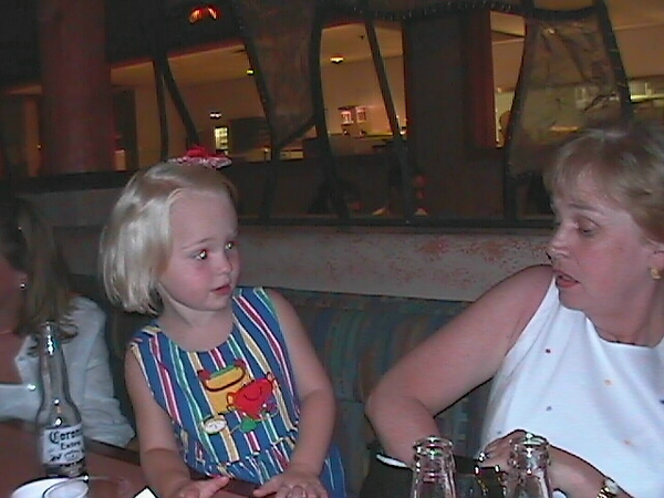 Ann and McKenzie Aug 23 1999 #5