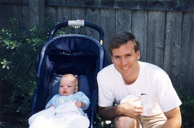 Jack in Stroller & Andrew