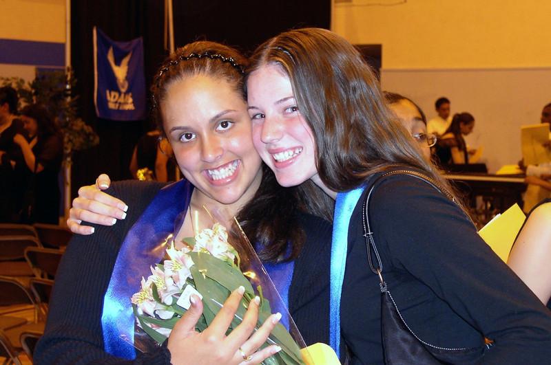 2003: Adams MS graduation