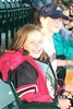 2000: With Nikki at Giants game