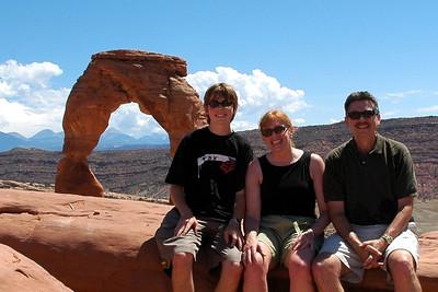 2005; August; Utah; Arch