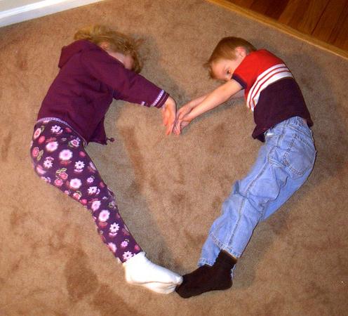 02012201 Heart-Shaped Kids