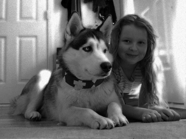 Black & white of previous picture.
