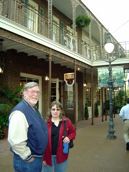 Kevin & Joy at the Opryland Hotel. Picture taken by Sara .