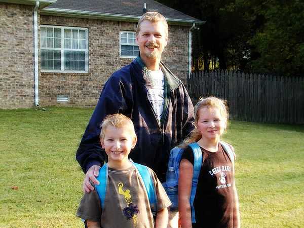 "Last year's ""first day of school"", August 17th, 2004."