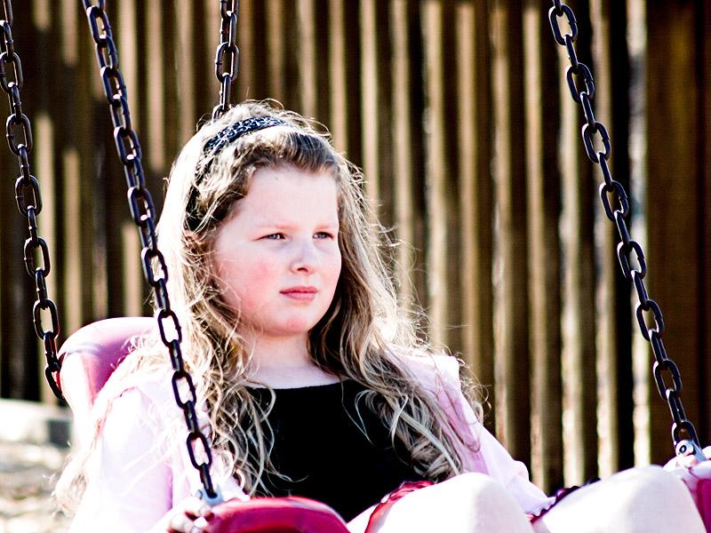 Abigail at Crocket Park, January 2006.