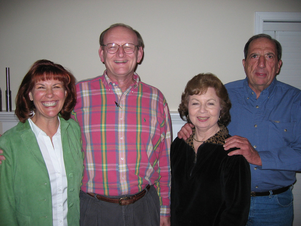 Ann & Russell Bellmor With Aza & Don Ledford At Rebecca's Birthday Party February 2005