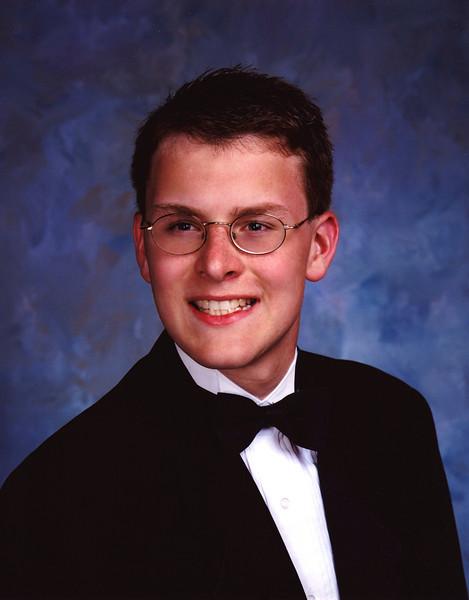 Justin Bellmor Senior Class September 2003