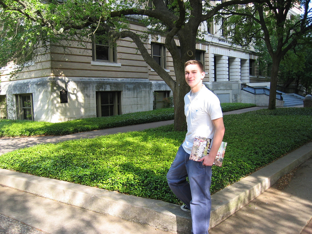 Morgan Bellmor's First Visit To Texas A&M April 2005