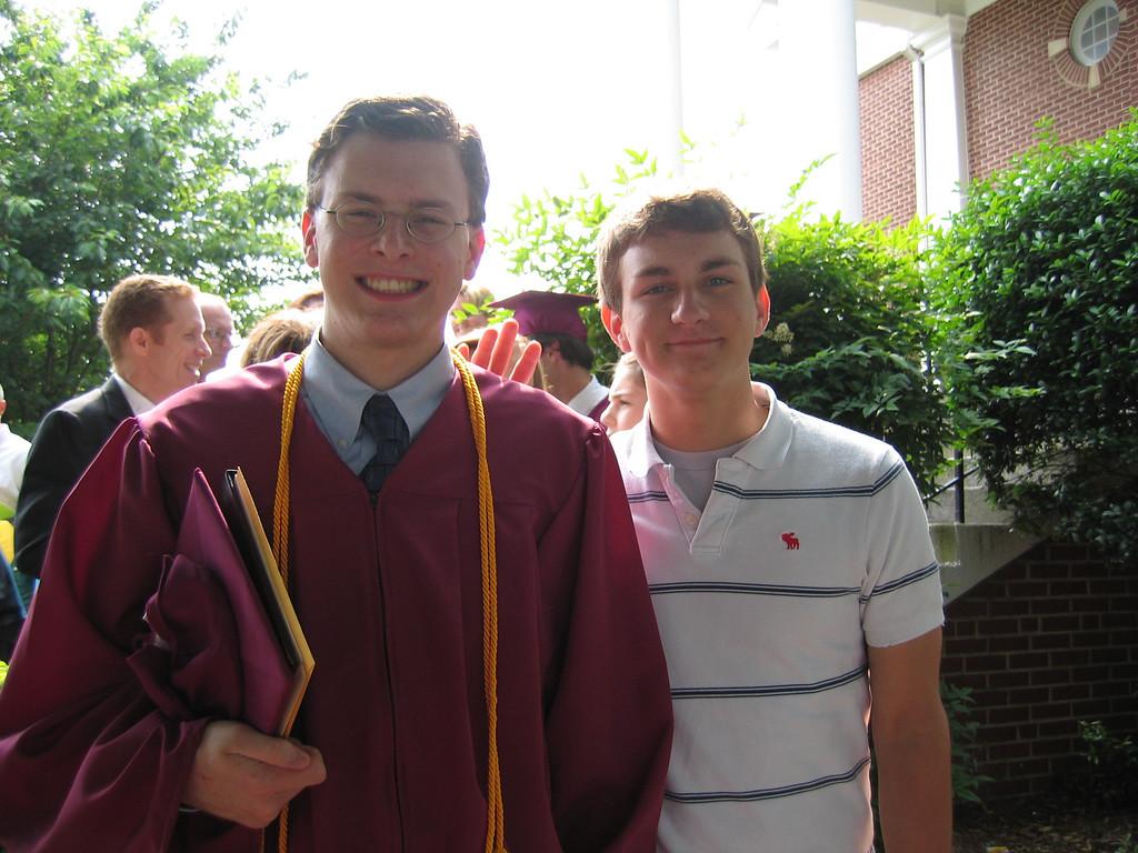 Justin & Morgan Justin Bellmor @ Justin's Graduation From Lassiter High School May 2004