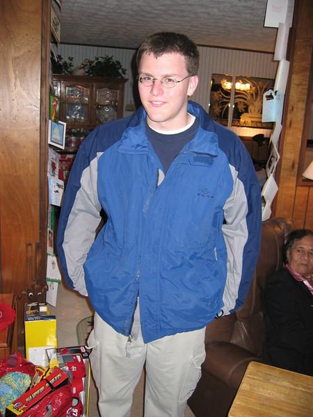 Justin Bellmor @ Sandy & Gerald's Christmas 2004