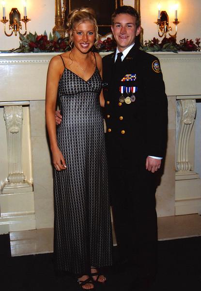 Morgan Bellmor & Kirsten NJROTC Military Ball February 2004