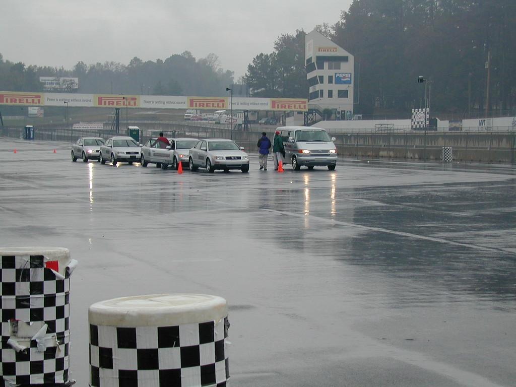 Morgan Bellmor @ Road Atlanta For Weekend Audi Teenage Aggressive Driving Class October 2003