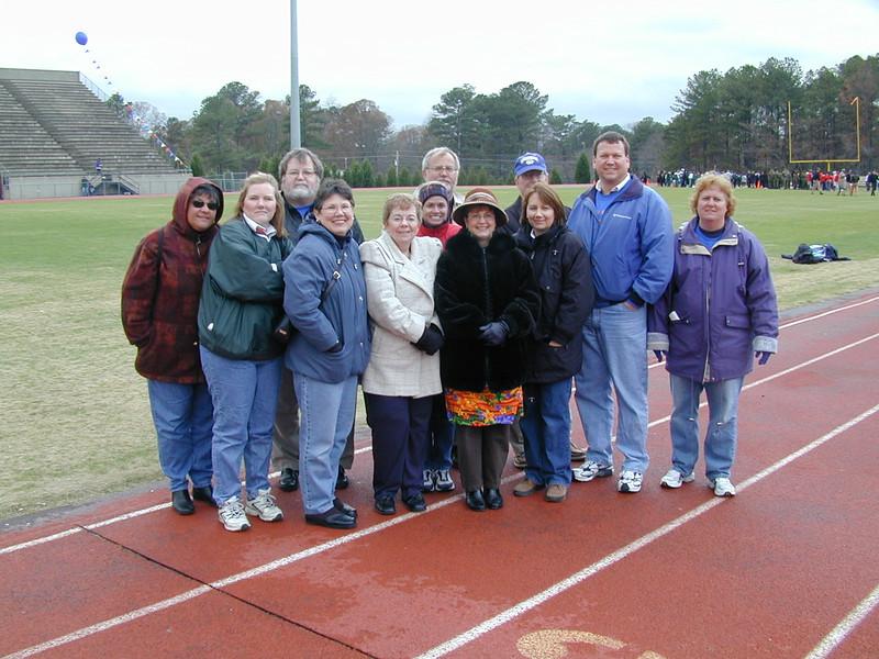 Parent's Supporting Lassiter High School's NJROTC Drill Meet December 2003