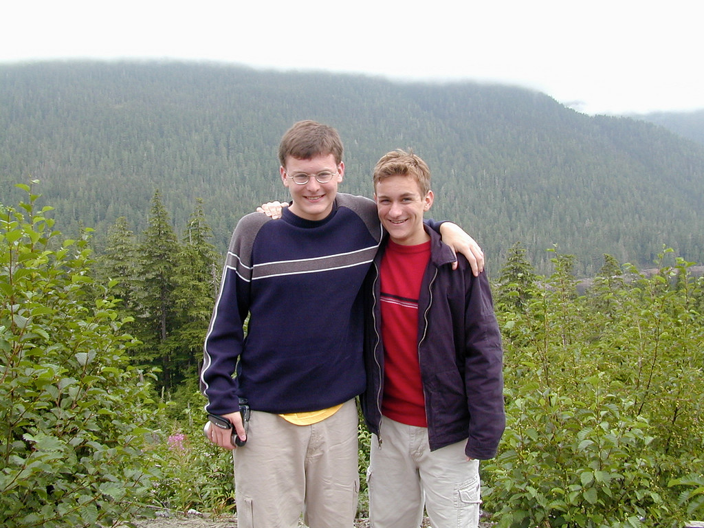Justin & Morgan Bellmor Jeep Excursion Ketchikan July 2003