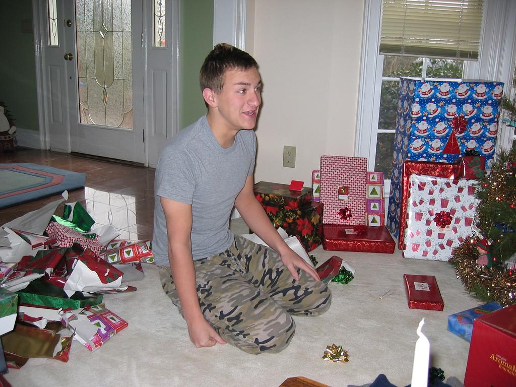 Morgan Bellmor Christmas 2004