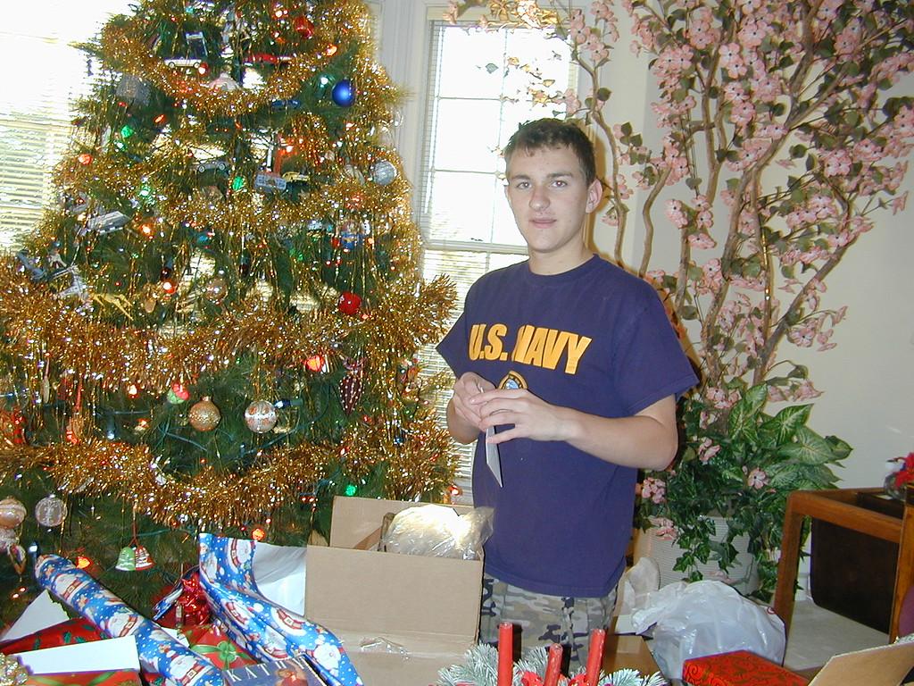 Morgan Bellmor Christmas Day 2003