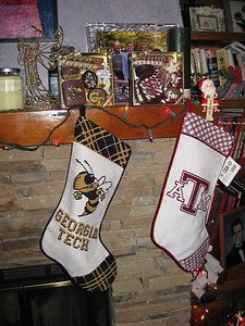 Christmas Stockings At Bellmor's Christmas 2008