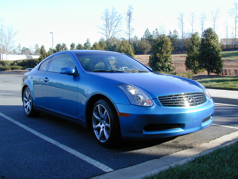 Russell Bellmor's 2004 Infiniti G35 Sports Coupe January 2004