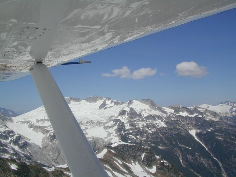 Seaplane Flight Through Canadian Mountains Vancouver Canada July 2003  Alaska Cruise Vacation