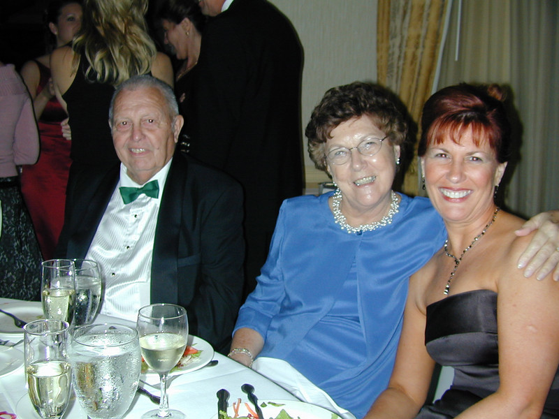 Bruce & Lois Snyder & Ann Bellmor @ Jeff Snyder's Wedding November 2003