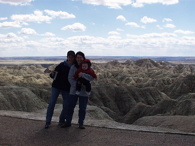 2000 Badlands with Michelle & Austin