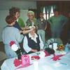 Left to Right: Sharron Allen, Marjorie Foster, Dian Graves (sitting), Wilma Reamy, Alyse Reamy, ?, Loretta Dickenson