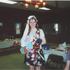 Becky Ames (Reamy) at wedding shower.  Laura Ames in background, Alyse Reamy's back