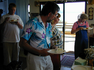 Erma Smelser's 80th Birthday Party, July 2000
