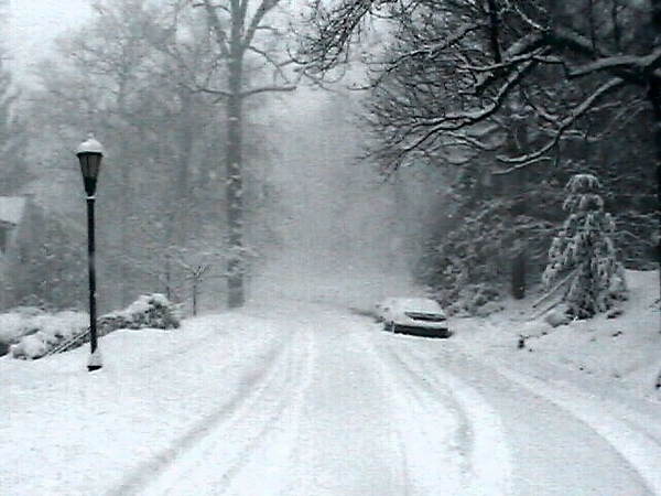 Winter Blizzard 2000 Looking West
