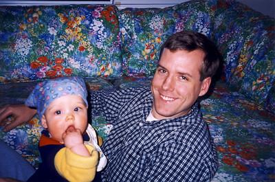 Jack Wearing Bandana with Andrew