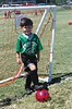 "Grant and ""Scary Guys"" soccer, St. Alcuin Montessori School's Pre-K team, Town North YMCA, Fall 2002."