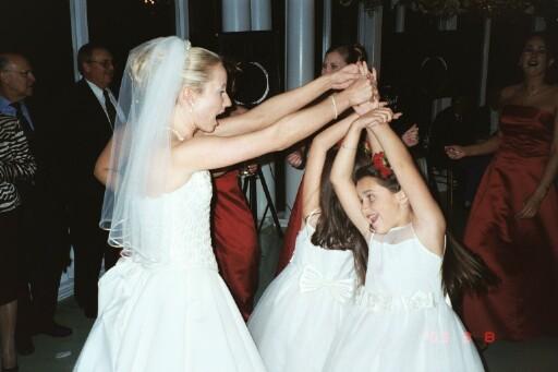 Chris Galvan's wedding in Houston.  March 8, 2003.