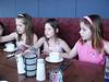 Anna G., Carolyn, Alexa.  Rachel's 9th birthday party at Reunion Tower.   April, 2004.