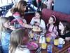 Clockwise: Ellie, Blaire, Minda, Caroline, Olivia, Rachel, Molly.  Rachel's 9th birthday party at Reunion Tower.   April, 2004.