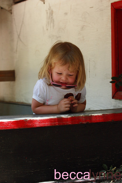 Amelia in Wagon