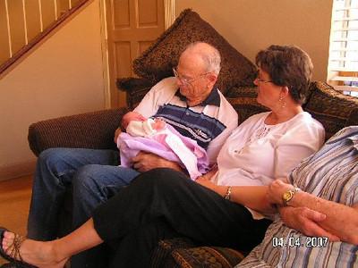 Grandpa gets a turn