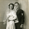 Madalynne and George Gardner on their wedding day, Sept. 19, 1943