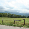 The Cades Cove Loop provides many amazing mountain views.