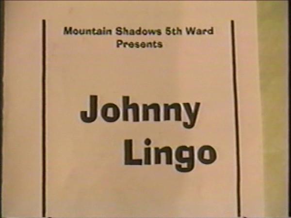 Johnny Lingo 1