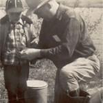 10 Bob and Grandpa Bow fishing about 6