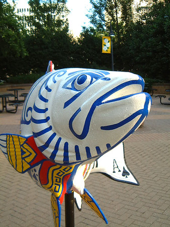 Go Fish Sculpture Project