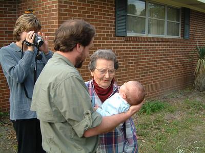 Visiting Grandmother Sarah Charleston
