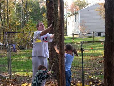 Nov. 2, 03 fall fun in the backyard