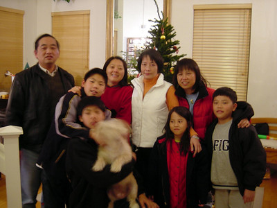 12/31/2003 - Le Fei & Ruby Visiting